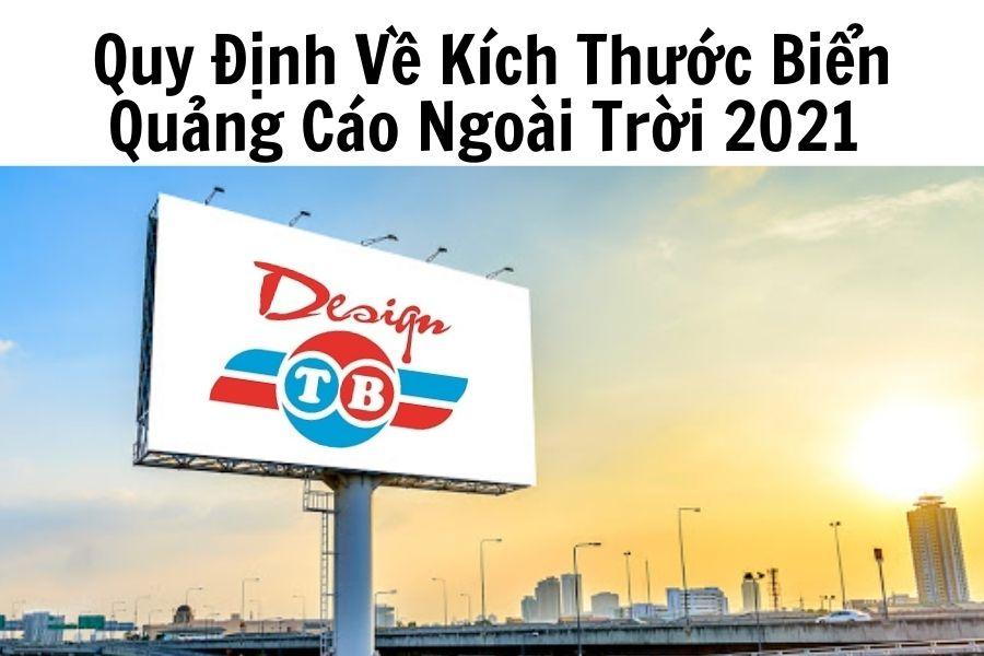 Quy Định Về Kích Thước Biển Quảng Cáo Ngoài Trời 2021