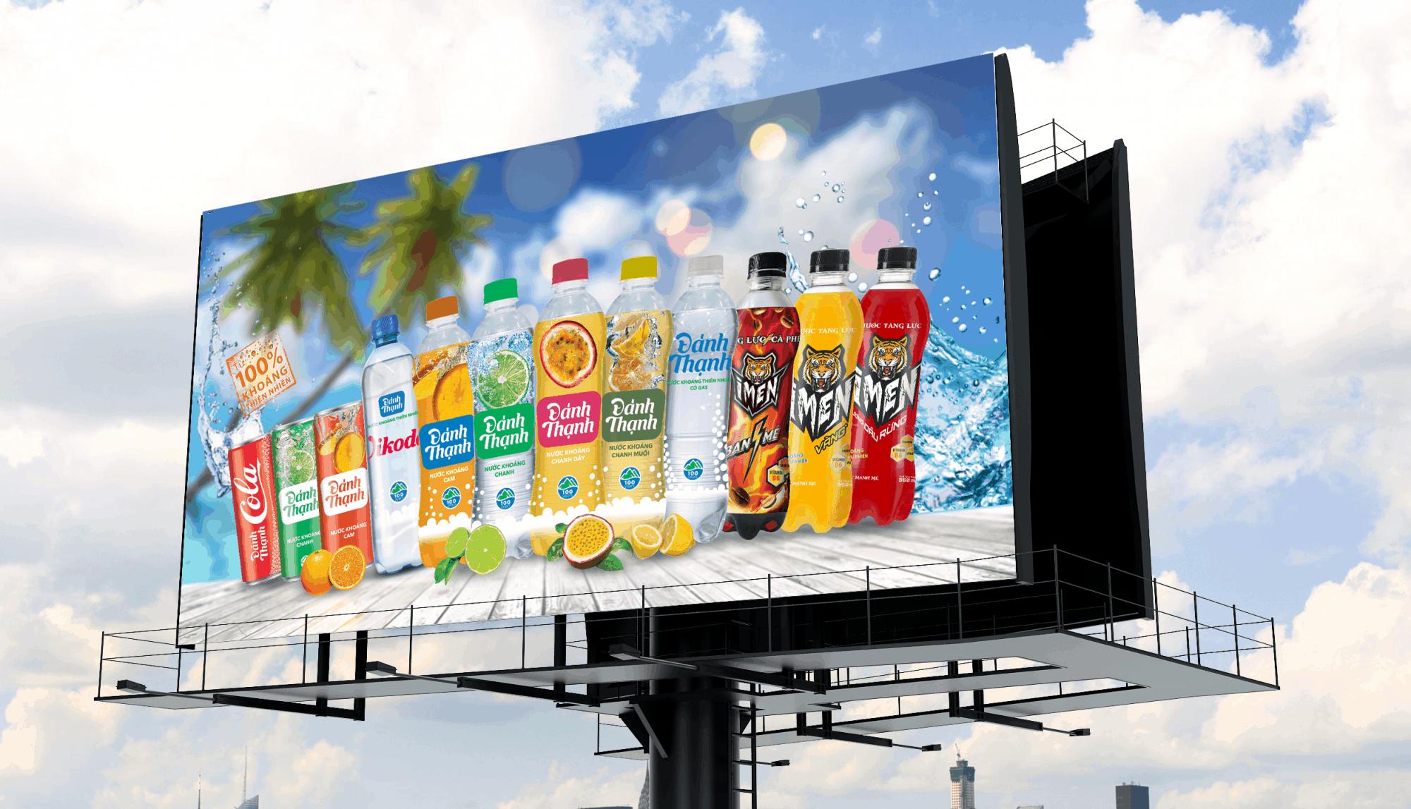 Các loại bảng quảng cáo Pano ngoài trời và ưu điểm của nó