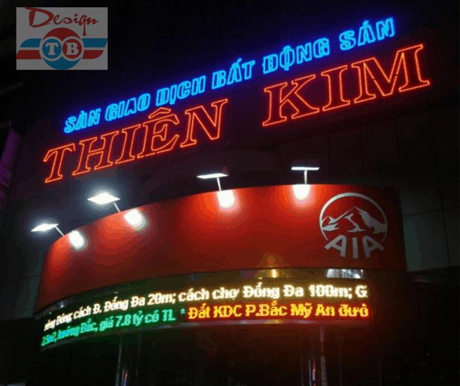 Địa chỉ làm đèn LED quảng cáo ngoài trời hiểu quả và chất lượng tại TPHCM