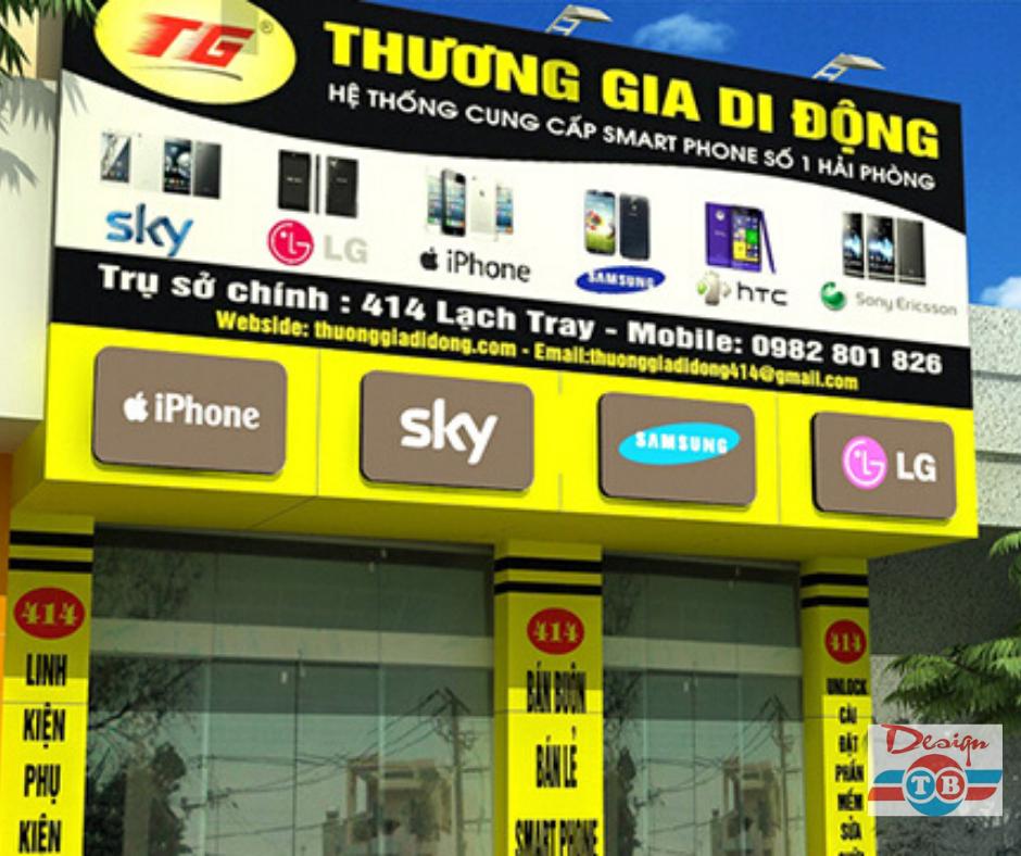 Những lưu ý khi thiết kế biển quảng cáo cho tiệm điện thoại